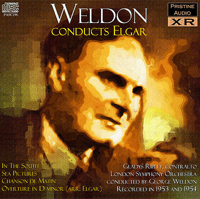 WELDON Elgar: In The South, Sea Pictures, Chanson de Matin, Overture (1953/54) - PASC196