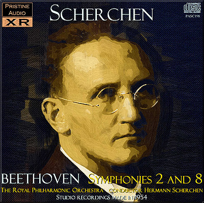 SCHERCHEN Beethoven: Symphonies 2 and 8 (1954) - PASC198
