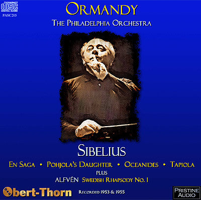 ORMANDY conducts Sibelius and Alfvén (1953/55) - PASC205