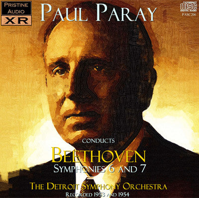 "PARAY Beethoven: Symphonies 6 ""Pastoral"" and 7 (1953/54) - PASC206"