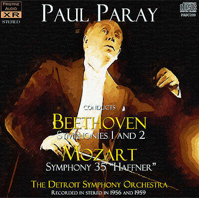 PARAY Beethoven and Mozart Symphonies (1956/59) - PASC209