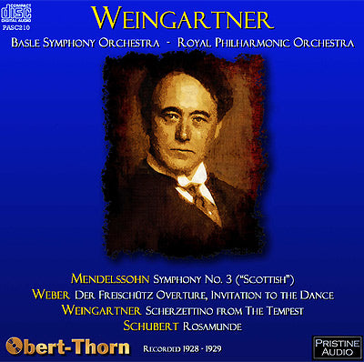 WEINGARTNER in Basle & London (1928-29) - PASC210