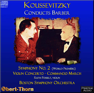 KOUSSEVITZKY conducts Barber (1944/49) - PASC217