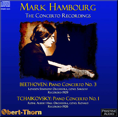 HAMBOURG The Concerto Recordings (1926/29) - PASC223