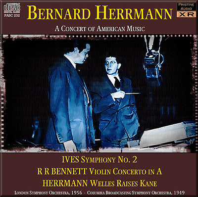 HERRMANN A Concert of American Music (1949/56) - PASC232