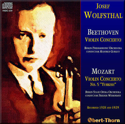 WOLFSTHAL Beethoven and Mozart Violin Concertos (1928/29) - PASC239