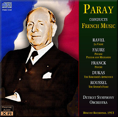 PARAY conducts French Music (1953) - PASC240