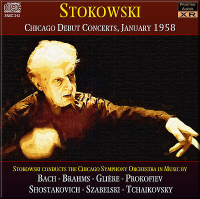 STOKOWSKI Chicago Debut Concerts (1958) - PASC242
