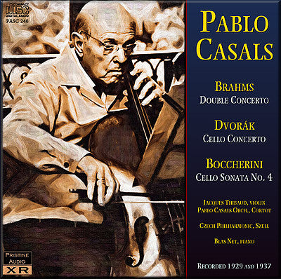 CASALS plays Brahms, Dvorák and Boccherini (1929/37) - PASC246