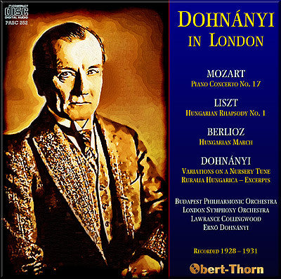 DOHNÁNYI in London (1928/31) - PASC252