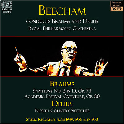 BEECHAM conducts Brahms and Delius (1949-58) - PASC263