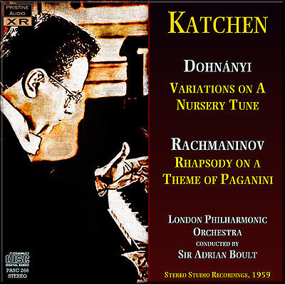 KATCHEN plays Dohnányi & Rachmaninov (1959) - PASC266