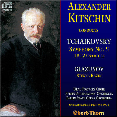 KITSCHIN conducts Tchaikovsky and Glazunov (1928/29) - PASC268