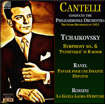 CANTELLI The 1952 Philharmonia Recordings - PASC269