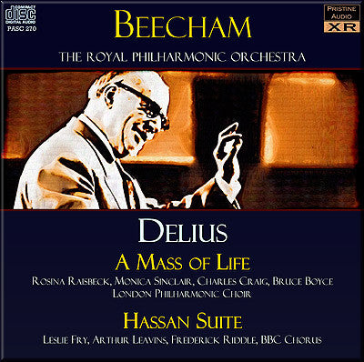 BEECHAM Delius: A Mass of Life, Hassan Suite (1952-56) - PASC270
