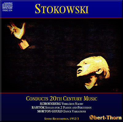 STOKOWSKI conducts 20th Century Music (1952/53) - PASC274