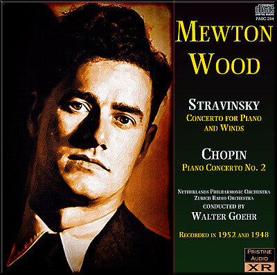MEWTON-WOOD Stravinsky and Chopin: Piano Concertos - PASC284
