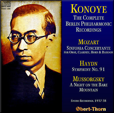 KONOYE The Complete Berlin Philharmonic Recordings (1937/38) - PASC288