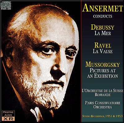 ANSERMET conducts Debussy, Ravel and Mussorgsky (1951/53) - PASC289