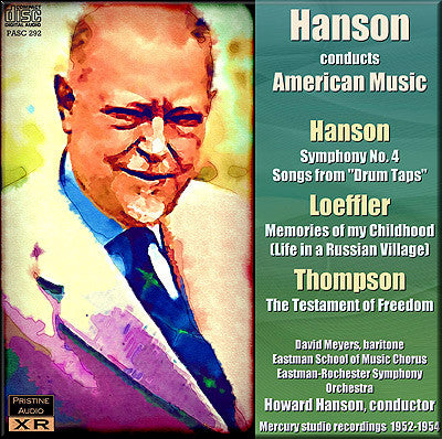 HANSON conducts American Music, Vol. 1 (1952-54) - PASC292