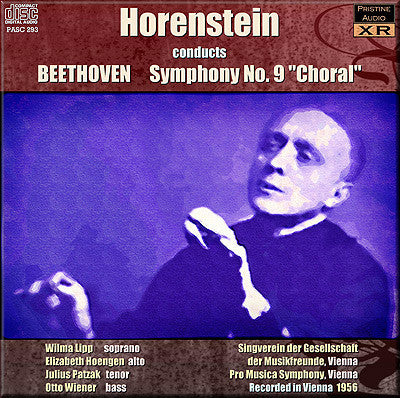 HORENSTEIN Beethoven: Symphony No. 9 'Choral' (1956) - PASC293