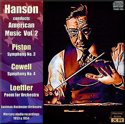 HANSON conducts American Music, Vol. 2 (1953/54) - PASC295