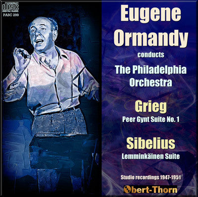 ORMANDY conducts Grieg and Sibelius (1947-51) - PASC299