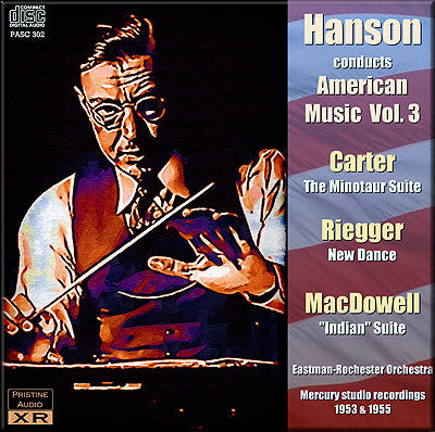 HANSON conducts American Music, Vol. 3 (1953/55) - PASC302