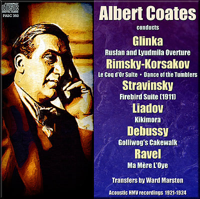 COATES conducts Russian and French music (1921-24) - PASC303