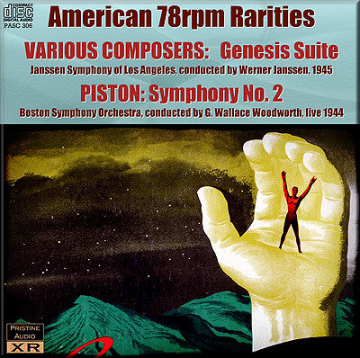 American 78rpm Rarities - Genesis Suite, PISTON Symphony No. 2 (1944-46) - PASC306