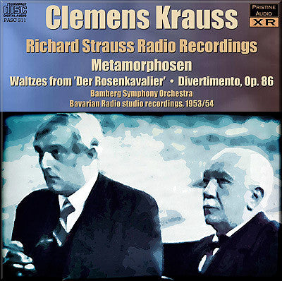 KRAUSS Richard Strauss Radio Recordings (1953/4) - PASC311