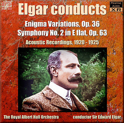 ELGAR conducts Enigma Variations, Symphony No. 2 (1920-25) - PASC313