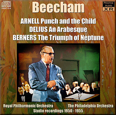 BEECHAM conducts Arnell, Berners, Delius (1950-55) - PASC314