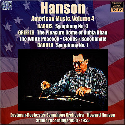 HANSON conducts American Music, Vol. 4 (1953-55) - PASC315