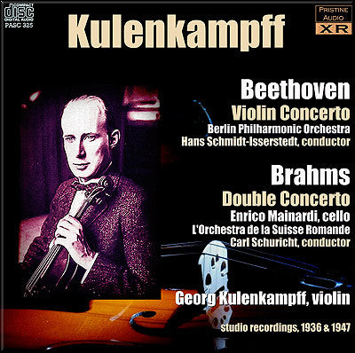 KULENKAMPFF plays Beethoven and Brahms Concertos (1936/47) - PASC325