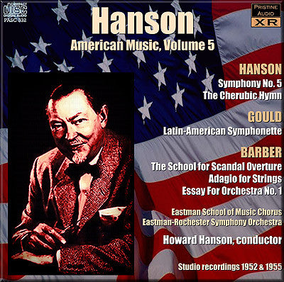 HANSON conducts American Music Volume 5 (1952-54) - PASC332