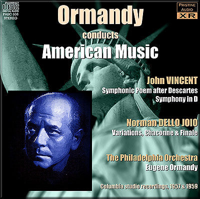 ORMANDY conducts American Music (1957/59) - PASC336