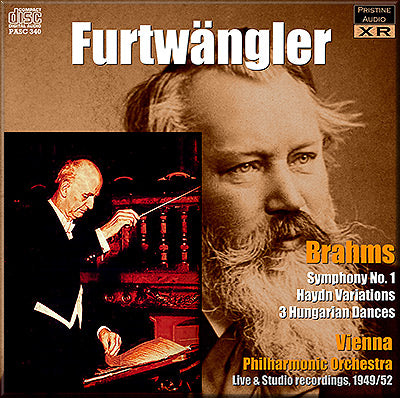 FURTWÄNGLER conducts Brahms (1942-52) - PABX026