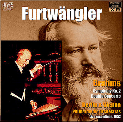 FURTWÄNGLER conducts Brahms Symphony No. 2, Double Concerto (1952) - PASC341