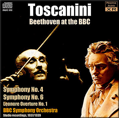 TOSCANINI conducts Beethoven at the BBC (1937/39) - PASC352