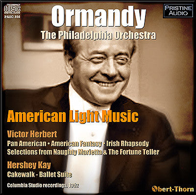 ORMANDY conducts American Light Music (1952) - PASC356