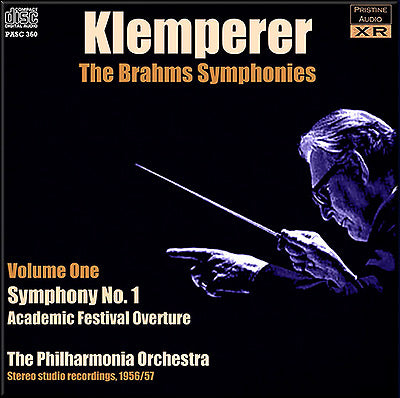 KLEMPERER conducts Brahms Symphonies Volume 1 (1956/57) - PASC360