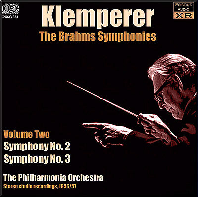 KLEMPERER conducts Brahms Symphonies Volume 2 (1956/57) - PASC361
