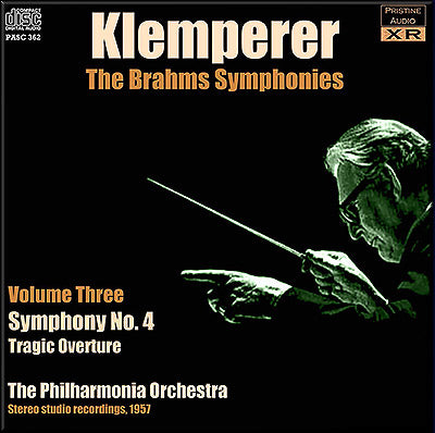 KLEMPERER conducts Brahms Symphonies Volume 3 (1957) - PASC362