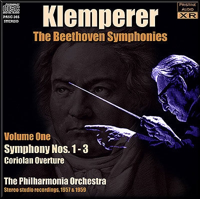 KLEMPERER conducts Beethoven Symphonies Volume 1 (1957/59) - PASC365