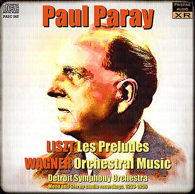 PARAY conducts Liszt and Wagner (1953-56) - PASC367