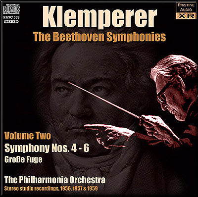 KLEMPERER conducts Beethoven Symphonies Volume 2 (1956-59) - PASC369