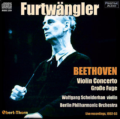 FURTWÄNGLER conducts Beethoven (1952/53) - PASC370