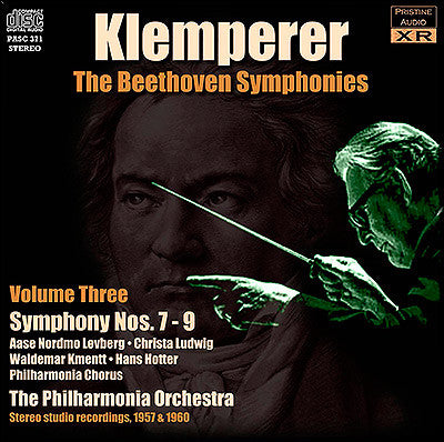 KLEMPERER conducts Beethoven Symphonies Volume 3 (1957/60) - PASC371