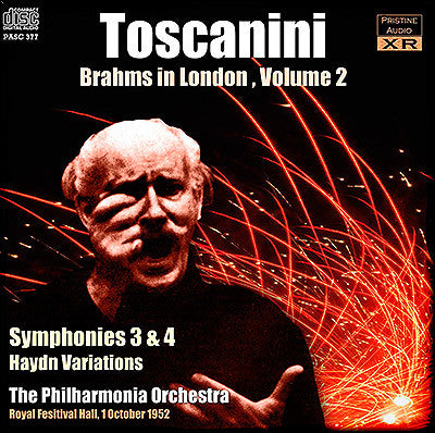 TOSCANINI Brahms in London, Volume 2 (1952) - PASC377